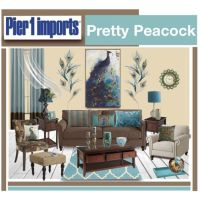 """Pier 1 Imports Pretty Peacock"" by truthjc on Polyvore"