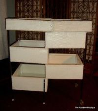 Vintage 1965 Badger Wicker Changing Table EUC | Babies ...