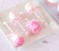 Baby Shower Party Ideas | Party pops, Button tree and ...