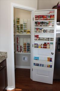 Door storage, Awesome and Cabinets on Pinterest