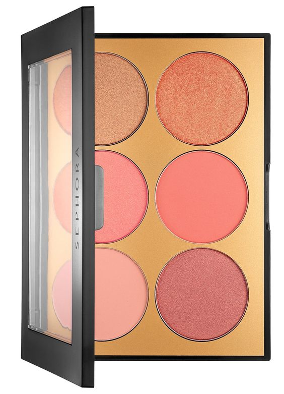 The SEPHORA COLLECTION Contour Blush Palette is a must have new makeup product!