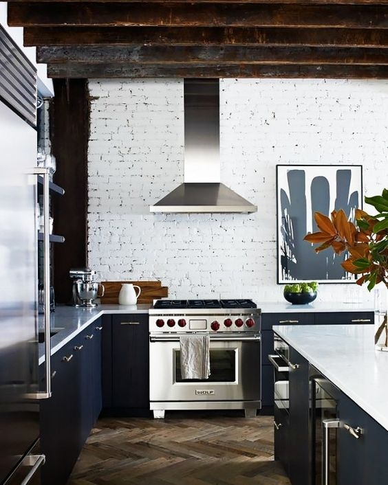 Tour a Chic New York Loft With a Hint of Edge via @domainehome: