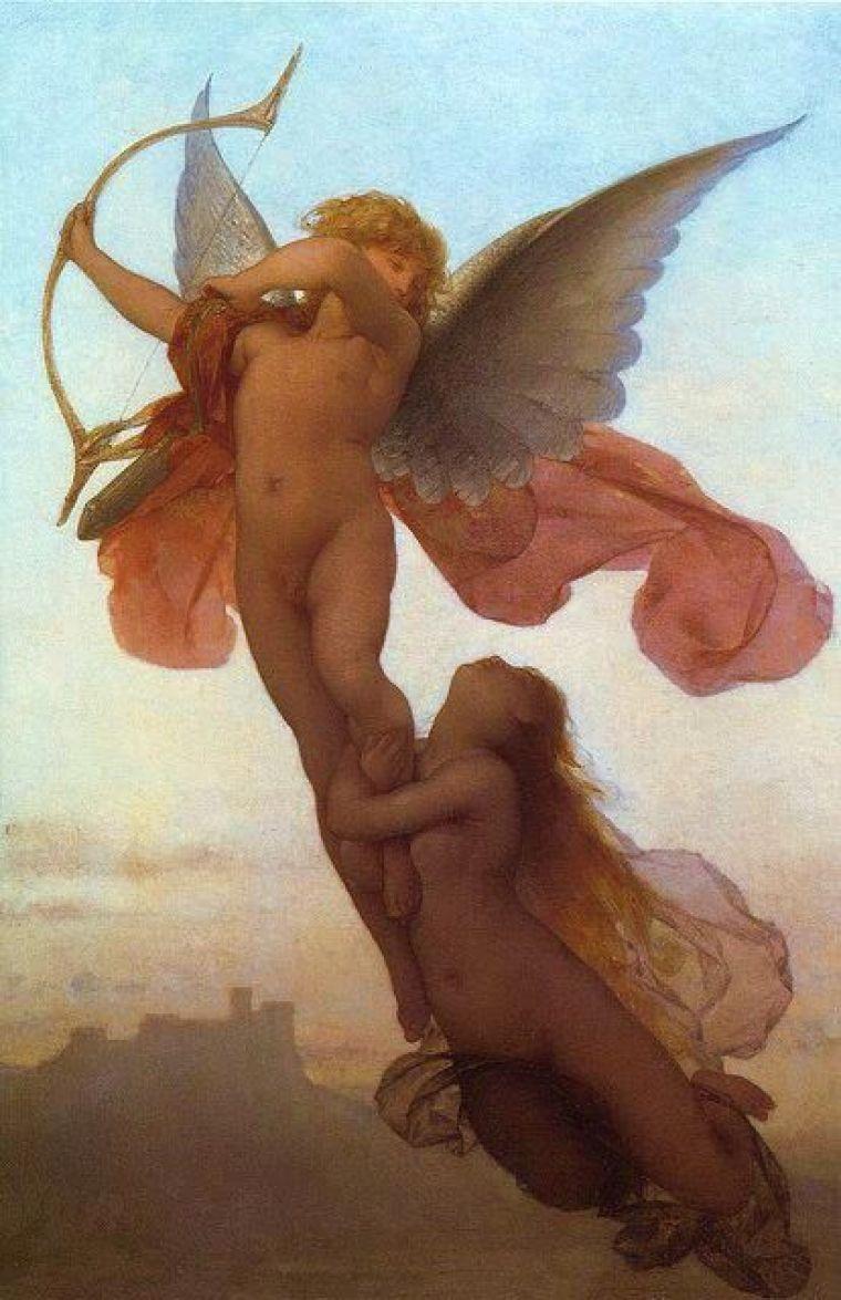 Amore e Psiche Eugène Médard: