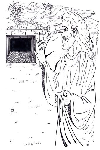 Jesus rose Lazarus from the dead ~ Lesson ~ Sunday School