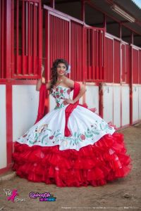 charra quinceanera dress