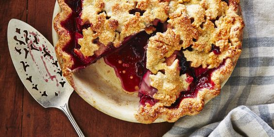 Opt for pear pie instead of apple, and switch it up by adding blackberries.:
