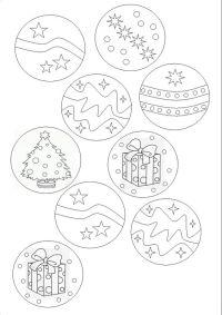 Bolas de Navidad para colorear | Dibujos de cuento ...