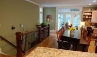 Basement staircase, Open basement and Basements on Pinterest
