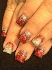 holiday nails nail art