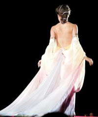 I see this as a Star Wars wedding dress. It's absolutely ...
