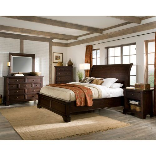 Telluride 6piece Cal King Bedroom Set  Master bedroom  Pinterest  Products King and King