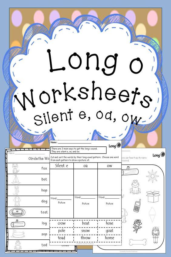 "Long ""o"" Sound  Worksheet  Educationcom"