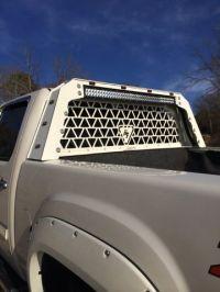 DARK THREAT FABRICATION CAB FLUSH HEAD ACHE RACK! Cab ...