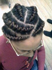 jumbo braid hair styles