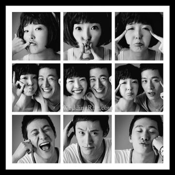 Foto Pra Wedding Ala Korea