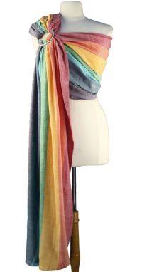 Girasol Ring Sling - Light Rainbow Diamond | Beautiful ...