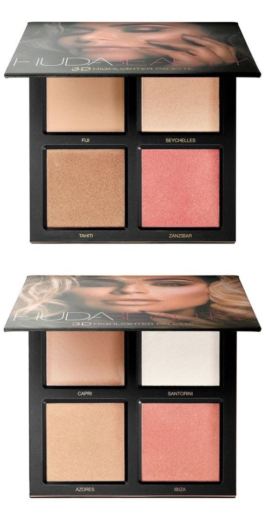 The Huda Beauty 3D Highlighter Palette is one of the best new makeup products!