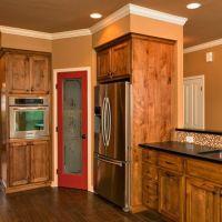 Wood color and pantry door Pantry Door Design Ideas ...