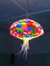 Colored Paper Jellyfish Light Shade - Kids Lights ...