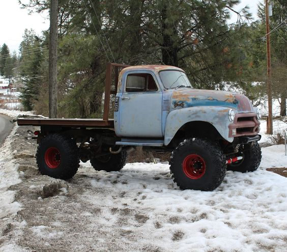 1954 Chevy Truck 4x4 For Sale