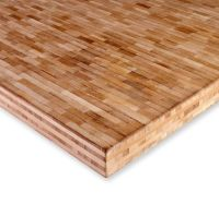 Bamboo Hardwood's end grain blonde bamboo plywood. Perfect ...