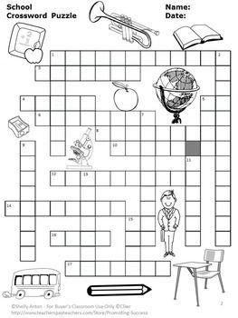 Crossword puzzles, Crossword and ESL on Pinterest