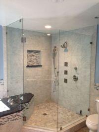 Corner shower with Kohler Luxury Body jets | Bathroom ...