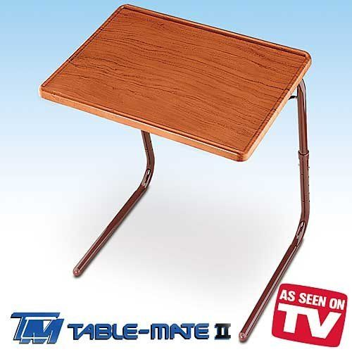 small table that slides under sofa covers ikea australia table-mate ii woodgrain folding by table-mate. $29 ...