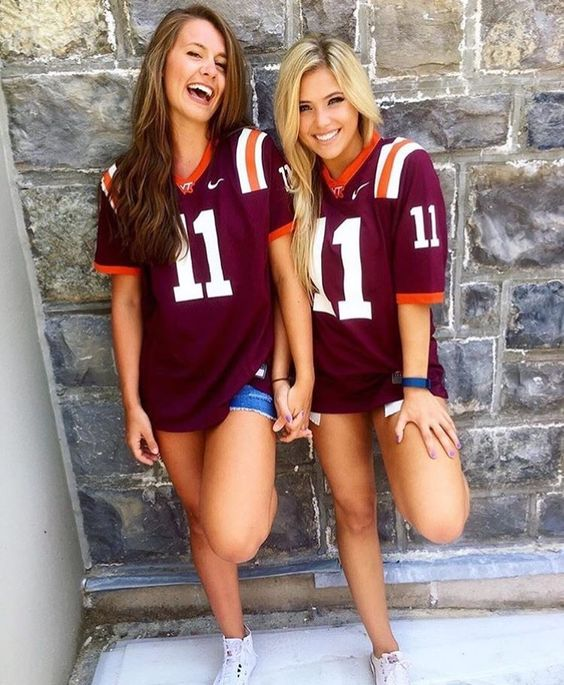 Image result for virginia tech girls