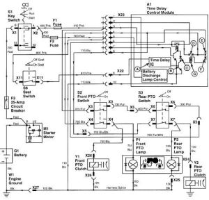 John deere, Electrical wiring and Lawn on Pinterest