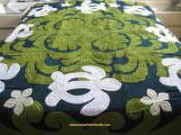 sea turtle bedding king | Sea Turtles-Plumeria-OLBG ...