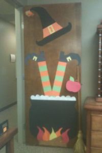 Happy fall, Door decorating and Fall door on Pinterest