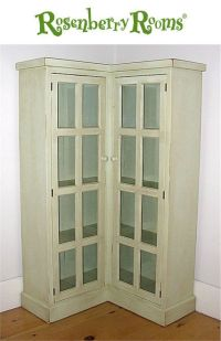 Corner storage, Storage and Cabinets on Pinterest