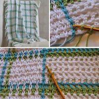 Woven baby blanket | Crochet | Pinterest | Baby blankets ...