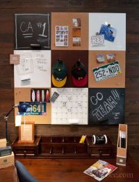 Dorm Decorating For Guys | handy bulletin board for guys ...