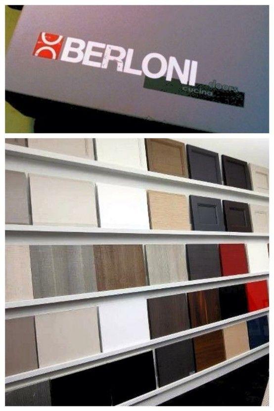Berloni Showroom Kitchen Cabinet Door Display