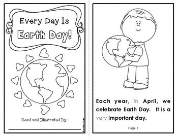 Every Day Is Earth Day! {An Informational Text for Primary