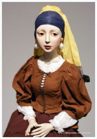 The Girl with a Pearl Earring | My Work - ClayDoll ...