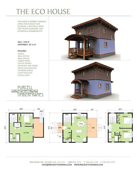 Timber Frame Eco House Designs – House Design Ideas