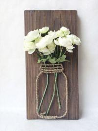 String art, Mason jars and Masons on Pinterest