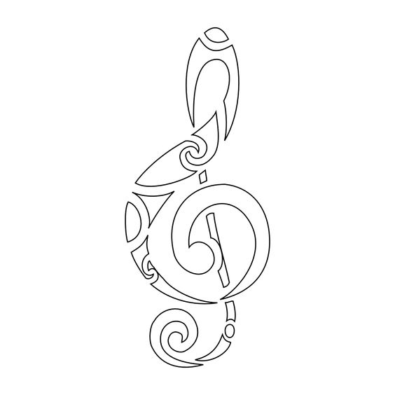 Musical Tattoo Ideas For Musicnote Tattoos Musicnotes