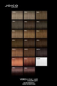 Joico Vero K-PAK AGE Defy Colour Palette. | Hair color ...