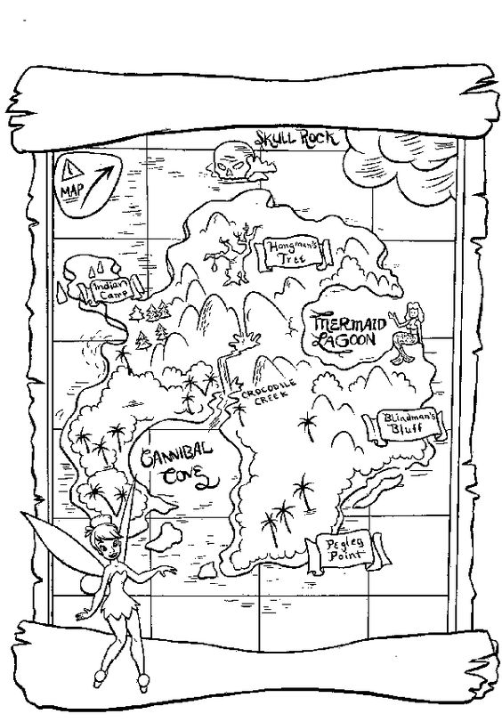 Real Treasure Hunts: Cryptic Treasures: Treasure Map