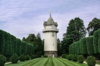 Water tower, Nemours Mansion and Gardens, Wilmington ...