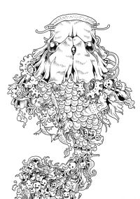 Animorphia Coloring Pages Printable Coloring Pages