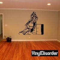 Rodeo Wall Decal - Vinyl Sticker - Car Sticker - Die Cut ...