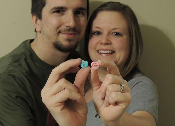 Cute Valentines Day Pregnancy Announcement Little