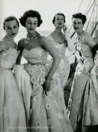 1950s Debutante glam