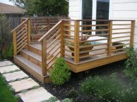 Horizontal Deck Railing Design | Design Ideas from ...