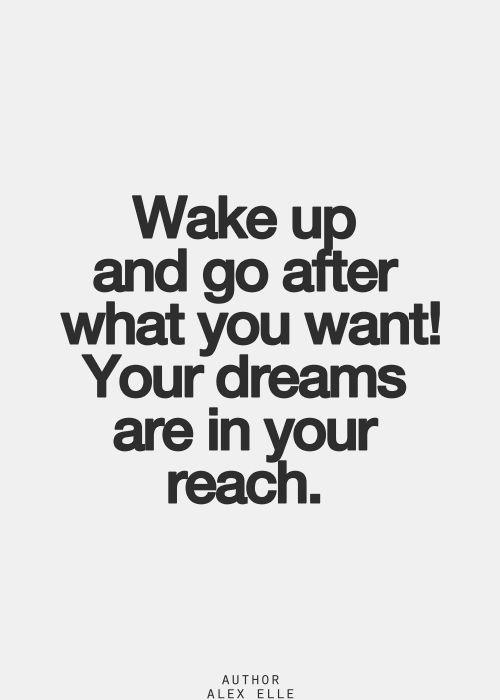 Dreams, Wake up and Entrepreneurship on Pinterest